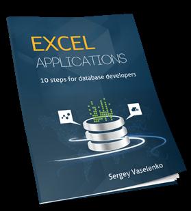 Excel Applications 10 Steps for Database Developers