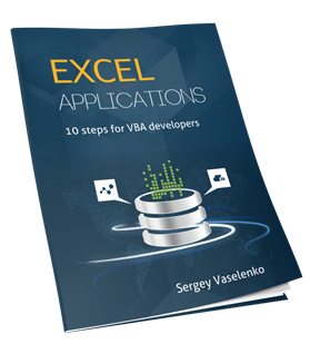 Excel Applications  10 Steps for VBA Developers
