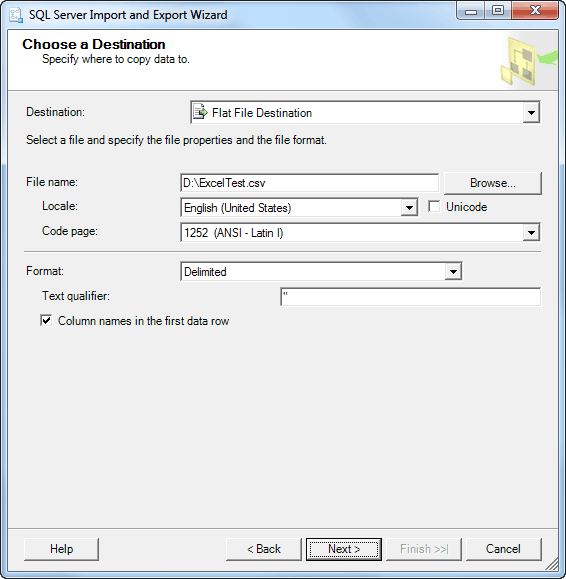 SQL Server Export to Excel using SSIS - www.Excel-SQL-Server.com